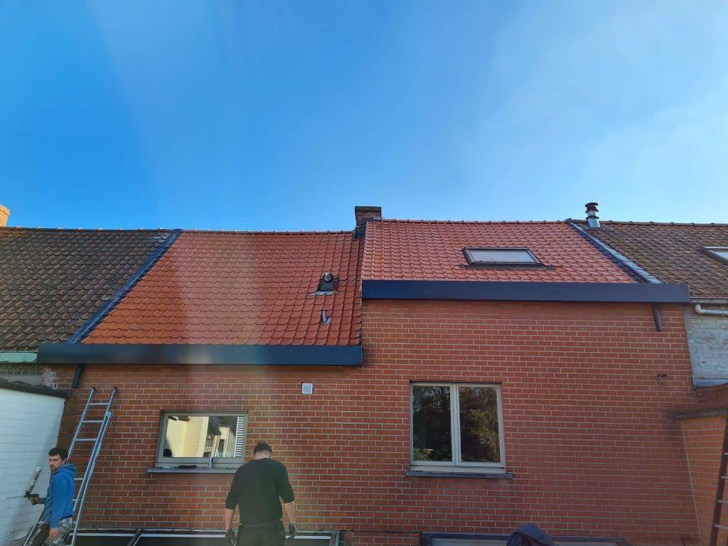 dakwerken B-Concept BV realisatie featured image van realisatie dakwerkepen hellend dak in Heule