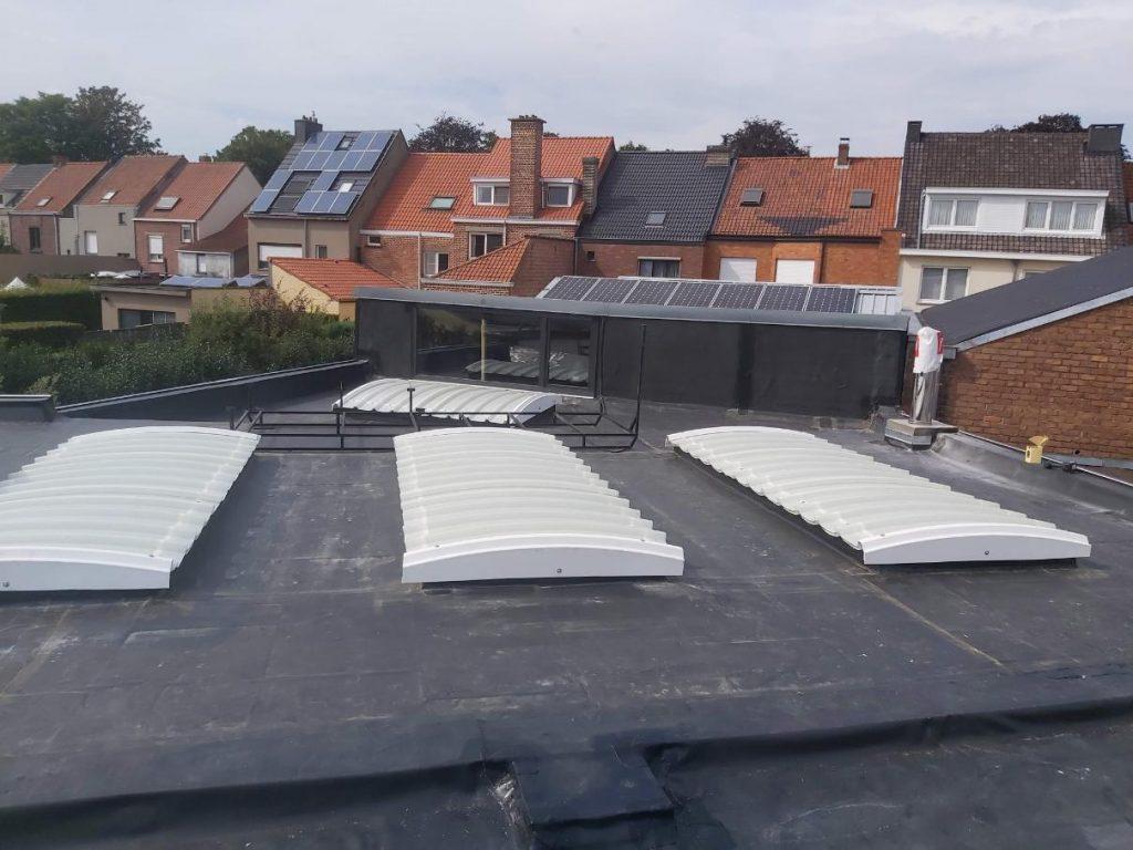 Realisatie B-Concept BV in Gent - plat dak in EPDM (17)