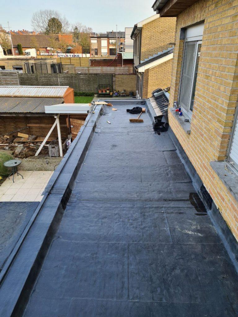 plat dak in epdm plaatsen in Deerlijk (9)
