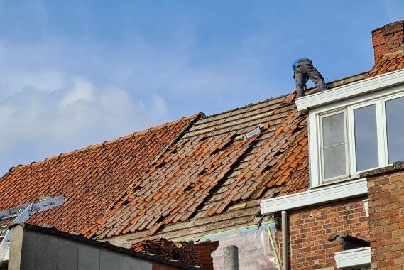 dakwerken bconcept project hellend dak voor